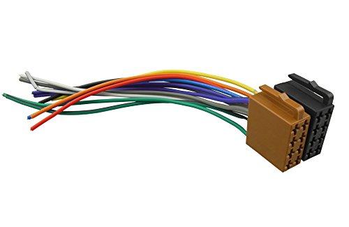 dkmus Universal ISO Auto Radio Kabel Kabelbaum Stereo Adapter Connector Adapter Plug Power und Lautsprecher Weiblich
