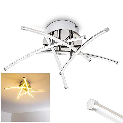 Moderna Lámpara de techo LED Kortezubi 1x LED 20W 3000K - Lámpara de techo barras LED ajustables cocina salón dormitorio
