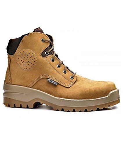 BASE Boots B0716 CAMEL TOP S3 HRO HI CI SRC Stiefel, Größe 40 (Stiefel Hi, Damen)