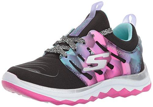 Skechers Mädchen Diamond Runner Ausbilder, Schwarz (Black/Multi), 37 EU (Multi Schuhe Black Kinder)