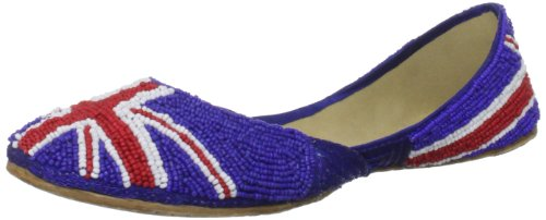 Unze L19317w, Damen Slipper Multi