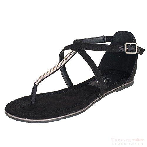 Fritzi aus Preußen S1571602 Damen Sandalen (black, 39)
