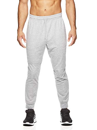 HEAD Herren Laufhose - Performance Athletic Workout & Training Sweatpants - Grau - X-Groß