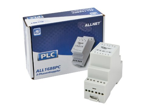 Allnet ALL1688PC Powerline Phasenkoppler 3-Phasen-Version mit vierter LX-Phase