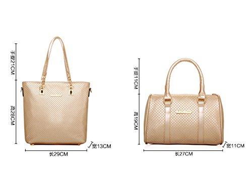 Keshi Pu Cool Damen Handtaschen, Hobo-Bags, Schultertaschen, Beutel, Beuteltaschen, Trend-Bags, Velours, Veloursleder, Wildleder, Tasche Blau