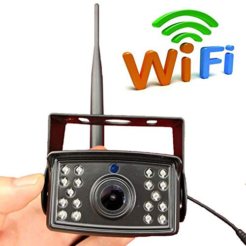 leap-G Rückfahrkamera WiFi Rückfahrkamera, Nachtsicht Rückspiegel Wireless Backup Kamera-Kit, uto-Kamera Rückspiegel Monitor Unterstützung Geräte Monito -