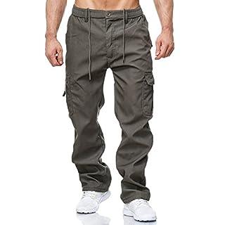 Herren Cargo Hose Arbeitshose Gefüttert Workwear H2000, Farben:Grün, Größe Hosen:XXL