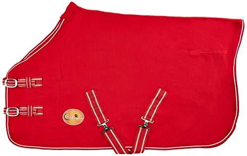 New Pferd COB Pony Shetland Mini Rot Show Travel Fleece Teppich 15,2cm-63\'22,9cm stabile Kühler Wahl von Größen (3\' 15,2cm).
