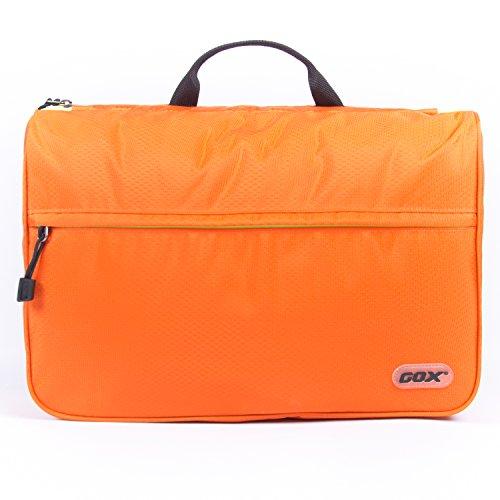 Beauty Case da Viaggio, GOX Premium 420D Nylon Impermeabile Folio portatile fronte Kit Open Design (Strumenti Di Cucina Caso Del Pacchetto)