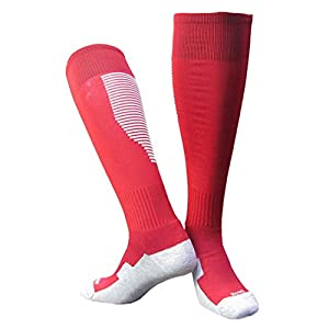 COMVIP Sport Outdoor Laufsocken Laufsocken Fussball Socke Strümpfe Trekkingsocken für Erwachsene/Kinder