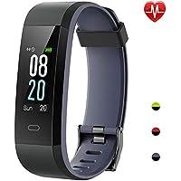 Pulsera Actividad, Willful Pulsera Actividad Inteligente Pantalla Color Reloj con Pulsómetro Impermeable IP68 Monitor de
