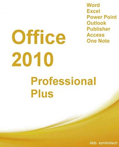 MS Office 2010 Professional 32 bit & 64 bit Vollversion für 1 PC Original Lizenzschlüssel + ISO-DVD von SHH-Shop