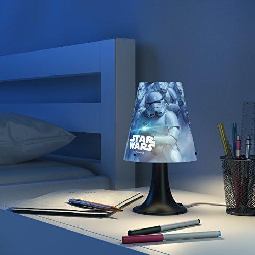 41bOGS5nlnL - Philips Star Wars 717959926 lámpara de mesa Multicolor 2,3 W LED - Lámparas de mesa (Multicolor, Sintético, Habitación de los niños, Expresivo, IP20, III)
