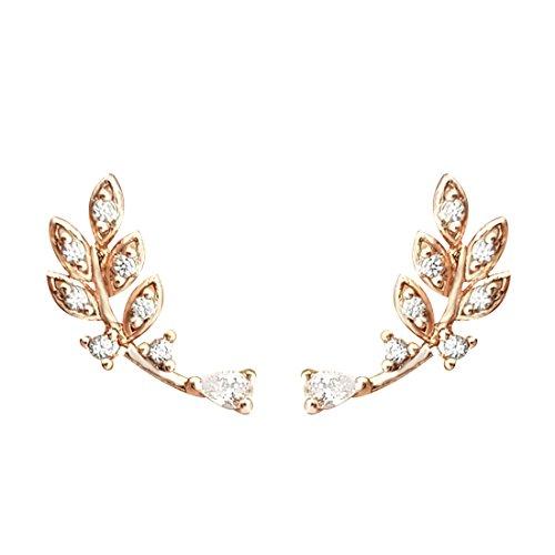 quke-925-sterling-silber-gold-ton-bltter-design-zirkonia-ohrstecker-ear-cuff-ohrringe-ohrhnger-ohrkl