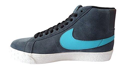 Nike SB Blazer Premium SE pour homme Hi Top Baskets 631042Sneakers Chaussures dark magnet grey dusty cactus black 030