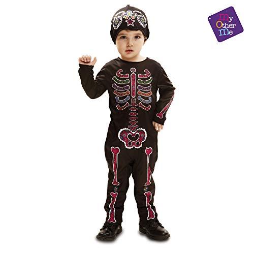 My Other Me Me - Día De Los Muertos Halloween Catrina Disfraz, Multicolor, 1-2 años, Fun Company 202245