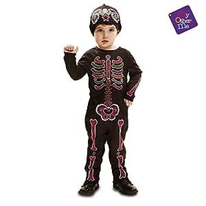 My Other Me - Día De Los Muertos Halloween Catrina Disfraz, Multicolor, 5-6 años, Fun Company 203637