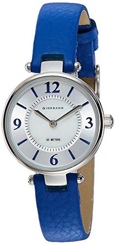 Giordano Analog Silver Dial Women's Watch-2796-02