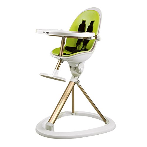 tablefit high chairs for babies with removable tray and soft insert 360 degree rotation green amazoncouk baby