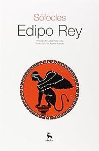Edipo Rey par  Sófocles