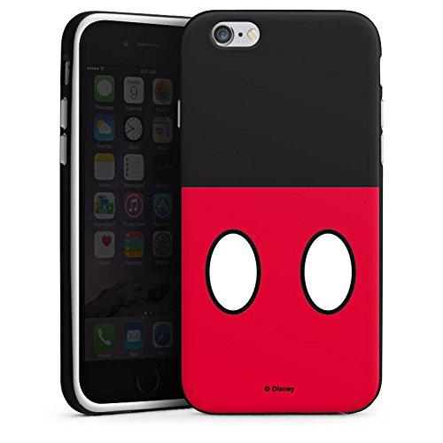 Apple iPhone X Silikon Hülle Case Schutzhülle Disney Mickey Mouse Hosen Geschenke Merchandise Silikon Case schwarz / weiß