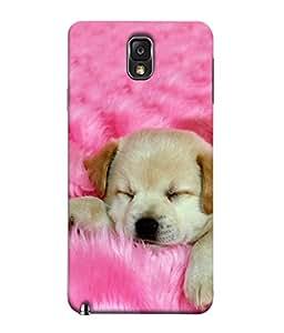 PrintVisa Cute Pet 3D Hard Polycarbonate Designer Back Case Cover for Samsung Galaxy Note 3 :: Samsung Galaxy Note Iii :: Samsung Galaxy Note 3 N9002 :: Samsung Galaxy Note 3 N9000 N9005