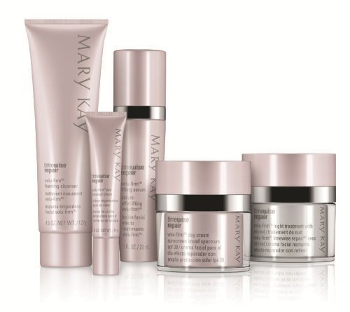 Mary Kay NEW TimeWise Repair Volu-Firm 5 Product Set Adv Skin Care FULL SIZE! incluide/day cream with spf 30/night... by Jubujub by Jubujub (Deep Wrinkle Eye Repair)