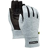 Burton Touch N Go Liner Guantes de Snowboard, Mujer, Gris (Heathered), S