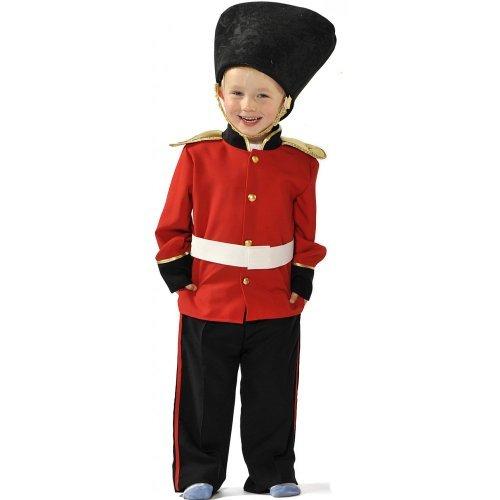Jungen Kids Royal Palace Guard / Guradsman Kostüm 3-5 Jahre [Spielzeug] (Children's Royal Guard Kostüm)