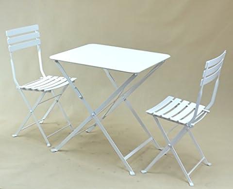 TABLE PLIANTE EN METAL « TROQUET », FORMAT: 60X70 cm, UNE TABLE DE PROFESSIONNELS POUR CHEZ VOUS !!! (Coloris: blanc ou gris anthracite). (GRIS ANTHRACITE)