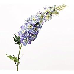 Deko Rittersporn, dunkelblau, 100 cm, Ø 11 cm - Künstlicher Delphinium / Kunstblume - artplants
