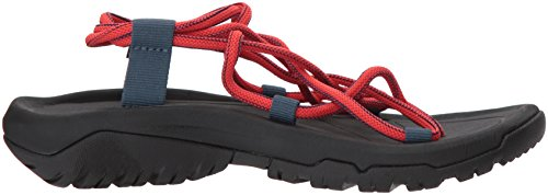 Teva W Hurricane XLT Infinity, Sandales Bout Ouvert Femme Rouge (Paprika)