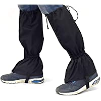 Camping Gaiters [1 Paio] Impermeabile Outdoor Boot Legging Cover Durevole Scarpe Calde Snow Ghette Escursionismo Trekking Snowboard Best for Women Men
