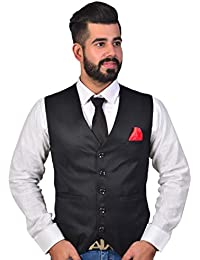 1aaa384ac41 REBAV New Trendy   Classy Waistcoat for Men s Ethnic Jacket for All  Occasions