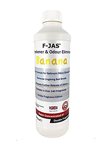 F-JAS Air Freshener & Odour Eliminator (500ml Super Concentrated, Double