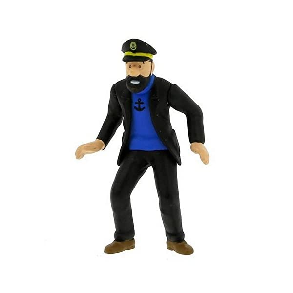 Figura de colección Tintín El capitán Haddock 6cm Moulinsart 42440 (2010) 1