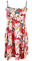 La Vogue Women Boho Halterneck Chiffon Sleeveless Beach Dress