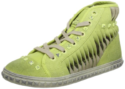 Fornarina 8342, Baskets mode femme Jaune (Lemon/Ice 500)