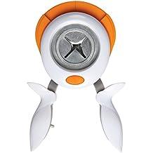 Fiskars Squeeze Punch - Perforadora de esquina 3 en 1, diseño radius