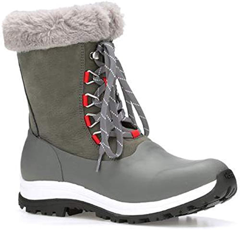 Muck Muck Muck stivali donna Arctic Apres Lace avvio – Marronee, Donna, grigio rosso, 6 UK | Alta qualità ed economico  | Scolaro/Signora Scarpa  d93298