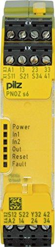Pilz Zweihandbediengerät PNOZ s6#750106 24VDC 3 n/o 1 n/c Zweihandschaltgerät 4046548025651
