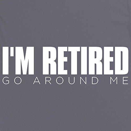 I'm Retired T-Shirt, Herren Anthrazit
