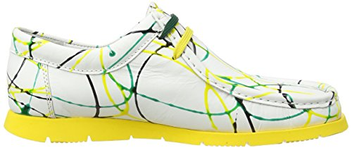 SiouxGrashopper-D-141 Bagan - Mocassini Donna Multicolore (Mehrfarbig (grass-giallo))