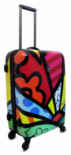 NUR HEUTE ... 50% SALE ... PREMIUM DESIGNER Hartschalen Koffer - Heys Künstler Britto A New Day Beauty Case A New Day 1