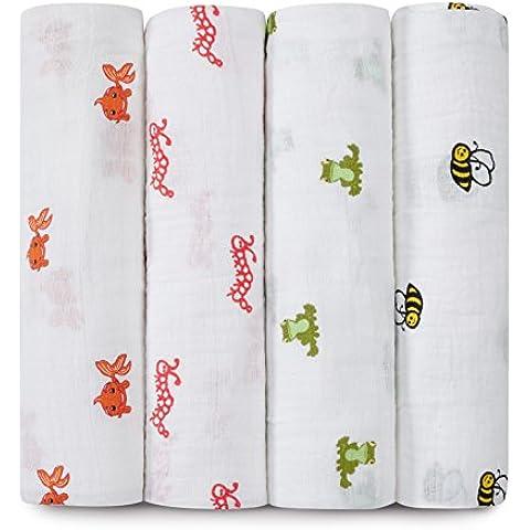 aden + anais 100% algodón muselina swaddle Wrap