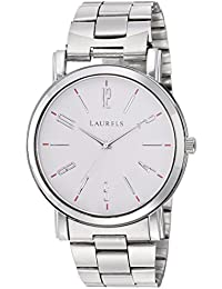 Laurels Soviet White Dial Analog Wrist Watch - For Women