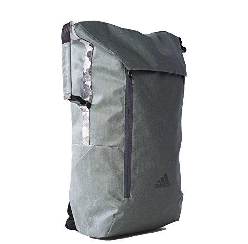 Adidas Z.N.Z. Athletic ID Rucksack Backpack Grey/BRGRIN/BLANCO/NEGRO