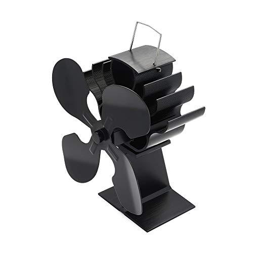LWQ 4-Blatt Hitze Powered Herd Fan, Für Holz/Holzofen/Kamin - Eco Heater Werkzeug