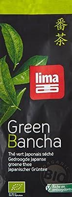 Lima Thé Vert Bancha en Vrac 100 g - Lot de 2