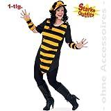 Gurimo-Tex 10443 Damen Kostüm Biene Big Bee große Größen (46)